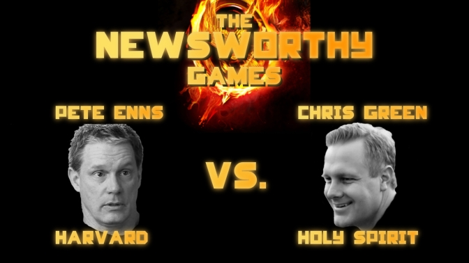 Pete Enns and Chris Green: The Newsworthy Games